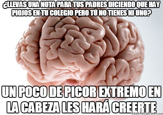 Cerebro_troll - El picor es el fenómeno físico más inoportuno de todos