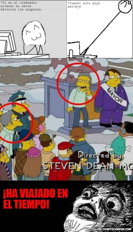 Inglip - Algo no cuadra en esta imagen, ¿qué te ha pasado Moe?