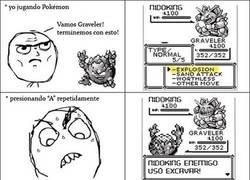 Enlace a El choque de ataques más troll en un combate Pokémon