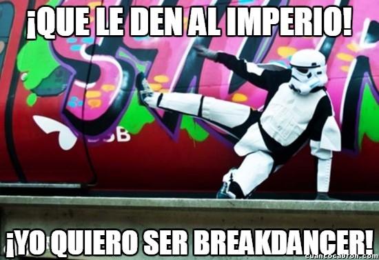Meme_otros - Los stormtroopers rebeldes