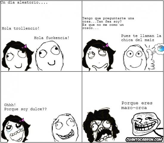 Trollface - Hay cosas que es mejor no preguntarle a tus amigos