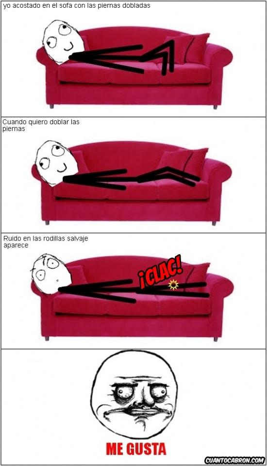 Me_gusta - Cuando aparece ese ruido en la rodilla