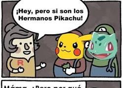 Enlace a Los hermanos Pikachu