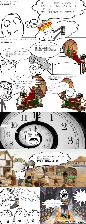 Ffffuuuuuuuuuu - Es mejor no jugar con los viajes en el tiempo