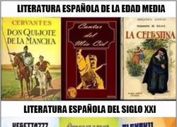 Enlace a La literatura de hoy en día, ¿qué ha pasado?