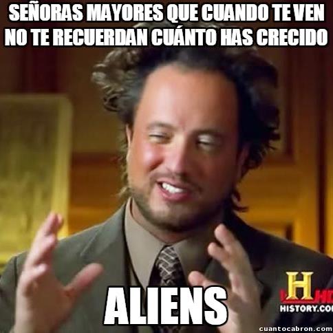 Ancient_aliens - El tema más recurrente con las señoras mayores