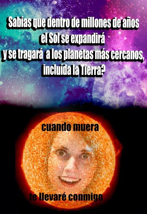 Novia_obsesiva - El Sol es la novia obsesiva del Sistema Solar