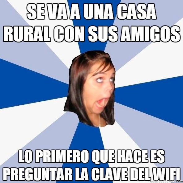 Amiga_facebook_molesta - ¡Deja ya el maldito móvil!