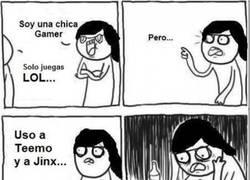 Enlace a La realidad de muchas ''chicas gamer''