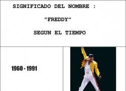 Enlace a Lo que se entiende por Freddy depende de la época