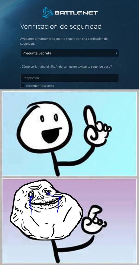 Forever_alone - Los de Blizzard son muy optimistas con nuestras situaciones sentimentales