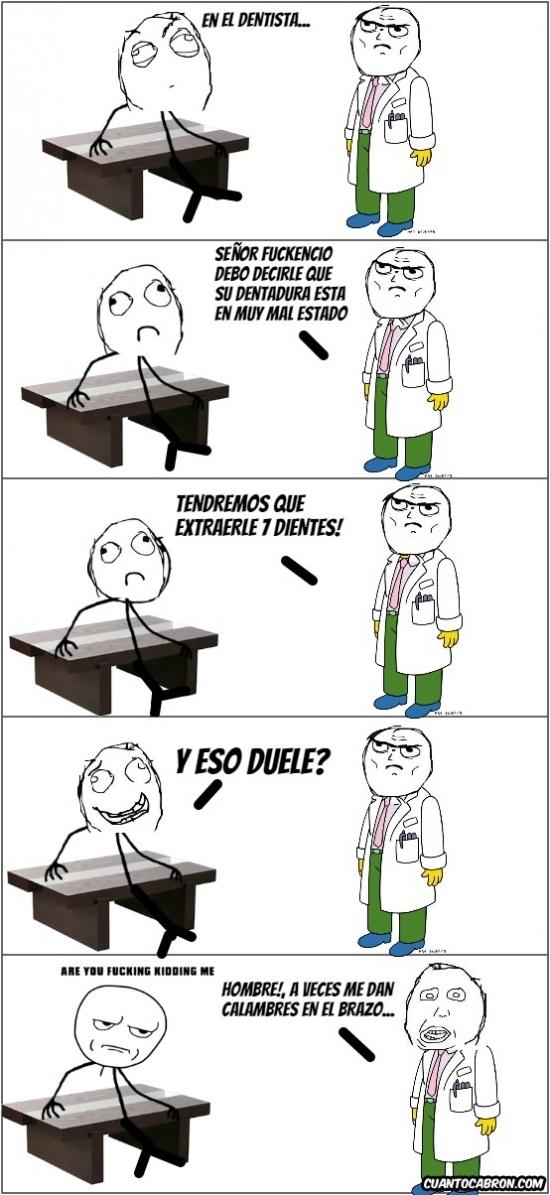 Kidding_me - En el dentista hay cosas que duelen mucho