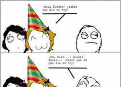 Enlace a No se puede ir por la vida olvidándose de los cumpleaños de la gente