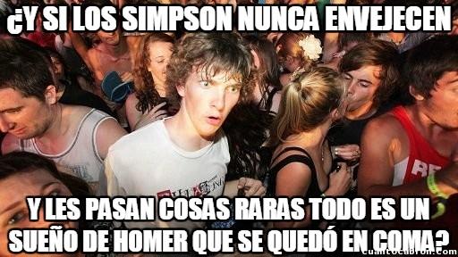 Momento_lucidez - Teorías paranoicas sobre Los Simpson