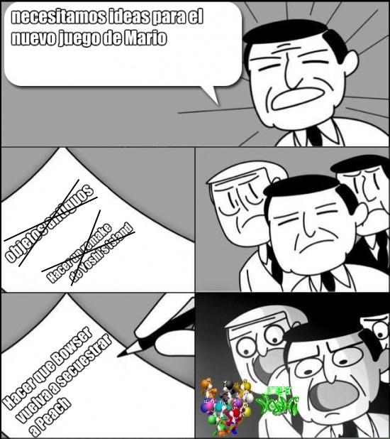 Otros - A Nintendo se le acabaron las ideas