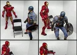 Enlace a Si es que Iron Man y el Capitán América nunca se han llevado demasiado bien