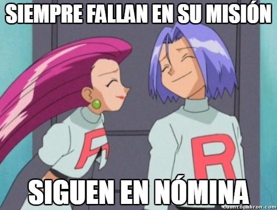 Meme_otros - Y por eso creo que el Team Rocket sería un buen partido político español