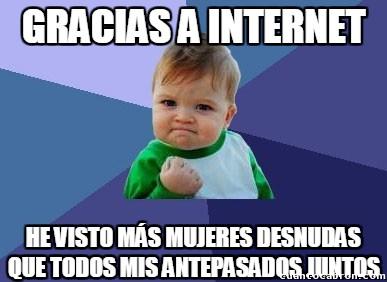 Success_kid - ¡Gracias Internet!