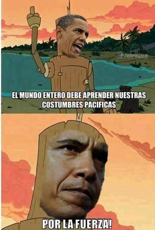 Meme_otros - Obama y su democracia