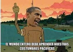 Enlace a Obama y su democracia