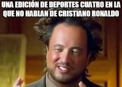 Enlace a Deportes Cuatro y Cristiano Ronaldo, una historia de amor mejor que todas