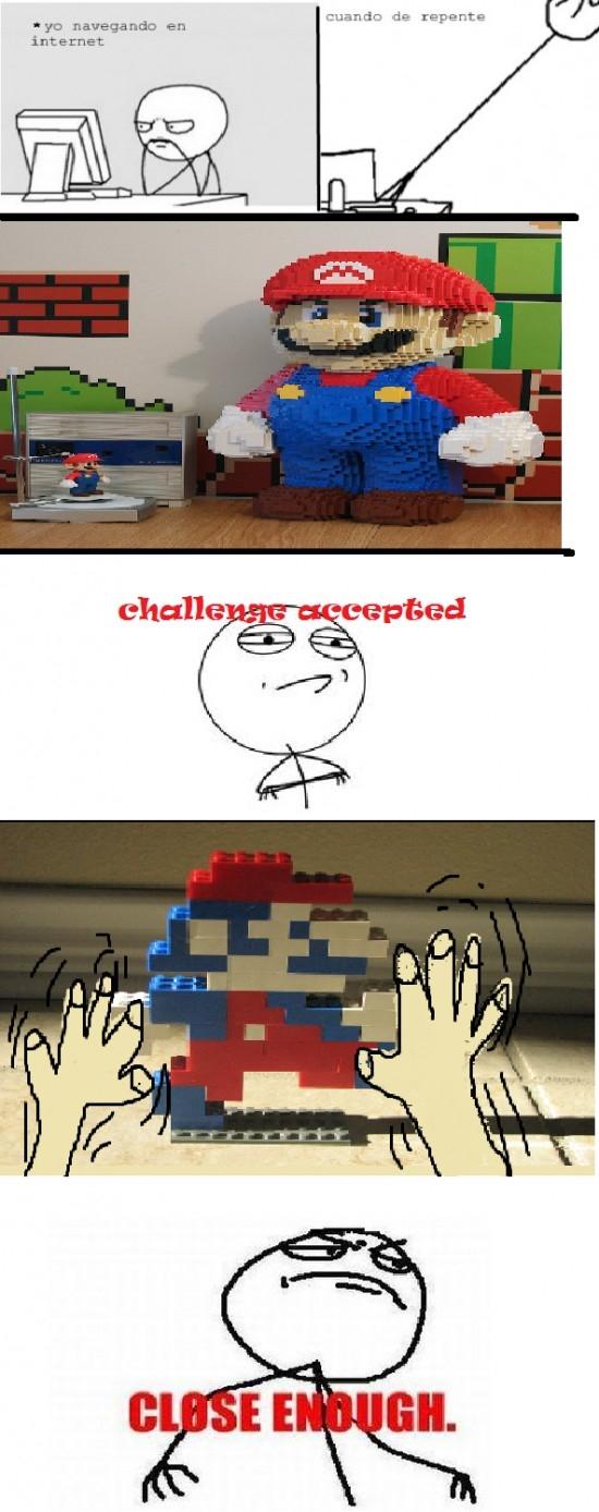 Fuck_yea - ¿Que no soy capaz de hacer un Super Mario de Lego? ¡Mira y aprende!