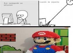 Enlace a ¿Que no soy capaz de hacer un Super Mario de Lego? ¡Mira y aprende!