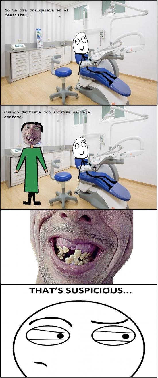 Thats_suspicious - Dentistas con los dientes en mal estado, sospechoso