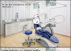 Enlace a Dentistas con los dientes en mal estado, sospechoso