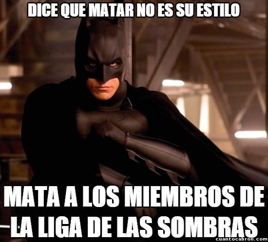 Meme_otros - La lógica de Batman