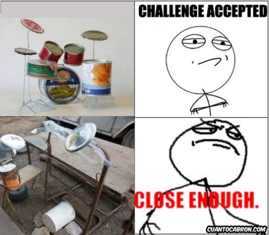 Challenge_accepted - Si no tienes una batería es porque no quieres