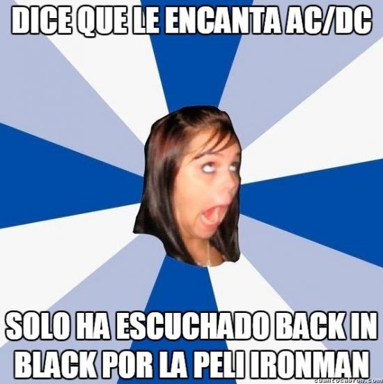 Amiga_facebook_molesta - La mayor fan de AC/DC según ella misma