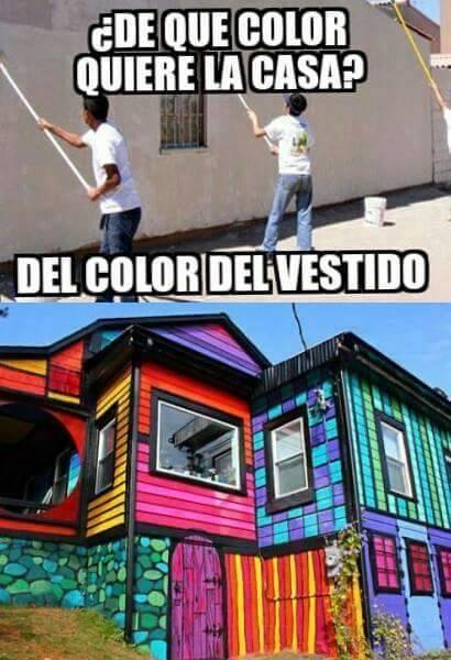 Meme_otros - Si tienes dudas con un color...