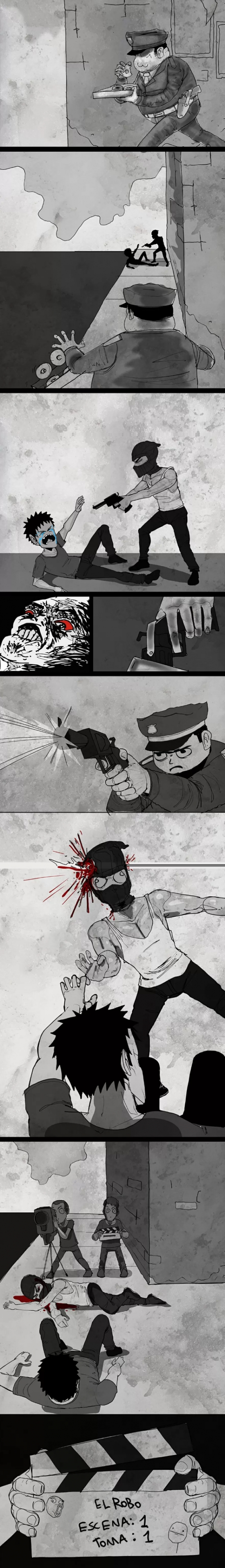 Mix - A veces ser un policía demasiado responsable te puede traer problemas