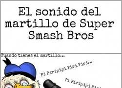 Enlace a El martillo loco en el Super Smash Bros.