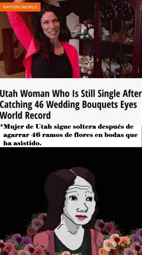 Otros - La mujer que no consigue marido ni rompiendo todos los récords del mundo