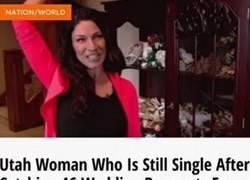 Enlace a La mujer que no consigue marido ni rompiendo todos los récords del mundo