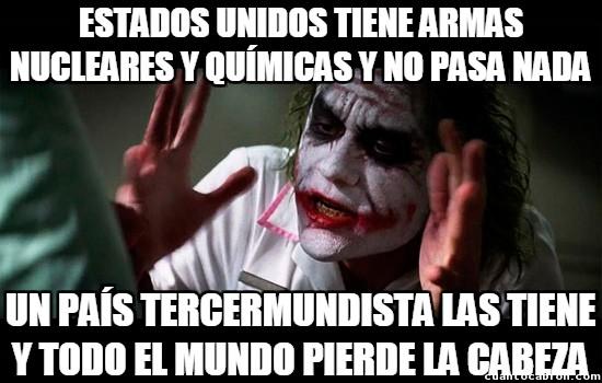 Joker - Así funciona Estados Unidos con el tema de las armas