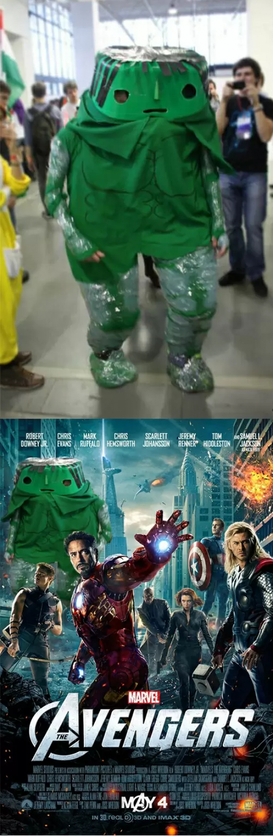 Otros - El mejor cosplay de Hulk que he visto