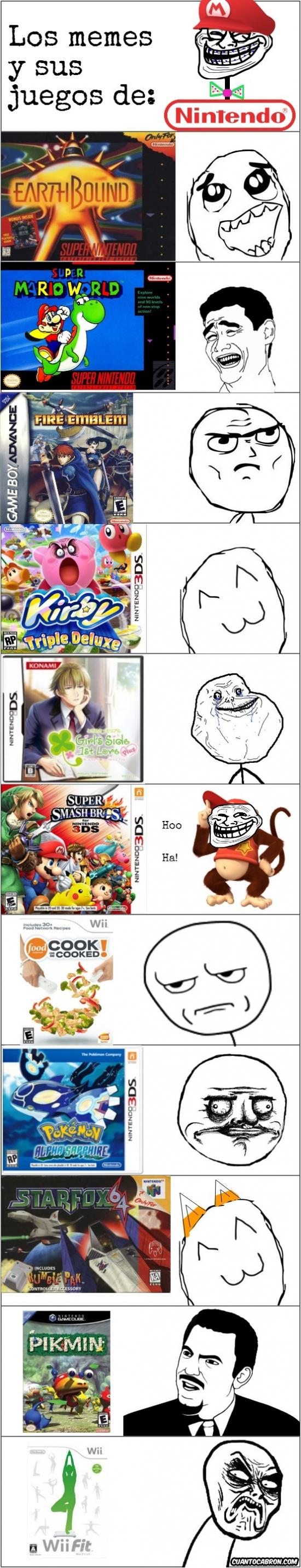 Mix - Los memes y sus juegos de Nintendo