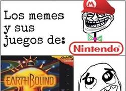 Enlace a Los memes y sus juegos de Nintendo