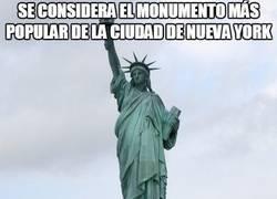 Enlace a La real ubicación de la famosa Estatua de la Libertad