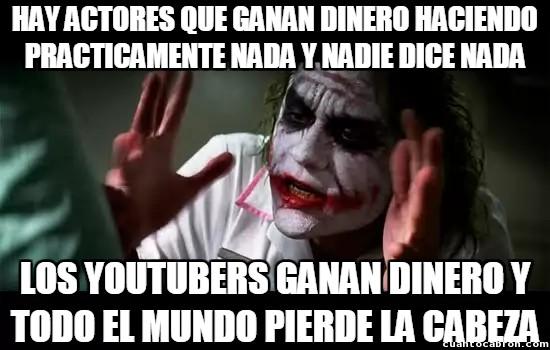 Joker - Doble moral de la gente con los Youtubers