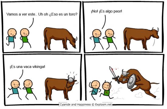Otros - ¿Te puedes encontrar con algo peor que un toro?