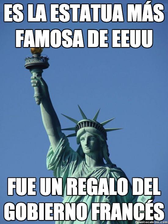 Meme_otros - Con lo bien que se caen mutuamente los estadounidenses y los franceses