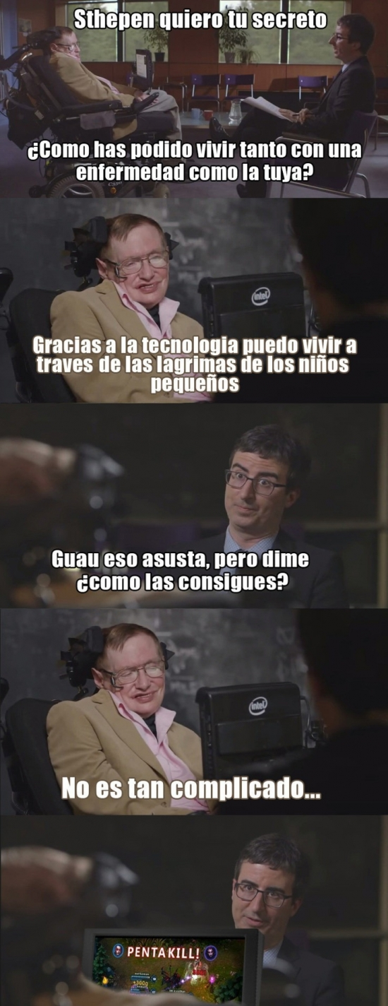 Meme_otros - El gran secreto de Hawking