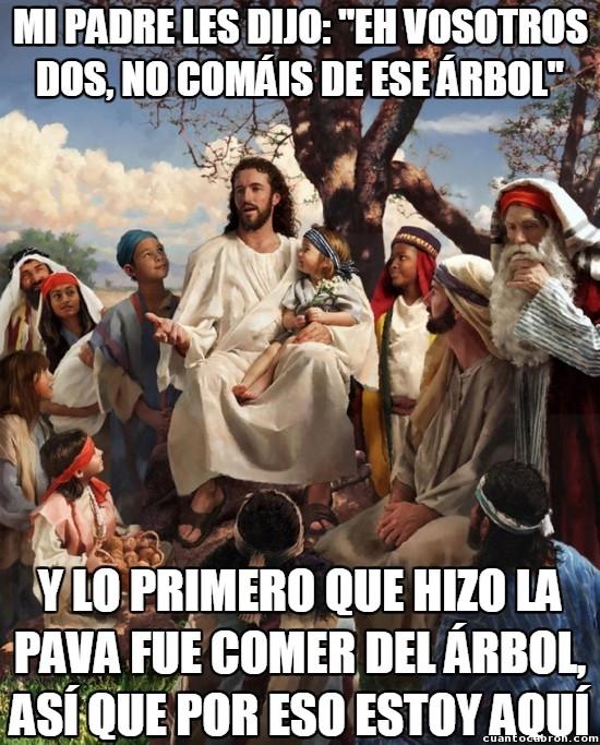Meme_otros - Jesús explicando su misión