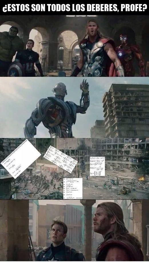 Otros - Thor nunca ha sido el más listo de Los Vengadoes