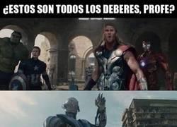 Enlace a Thor nunca ha sido el más listo de Los Vengadoes