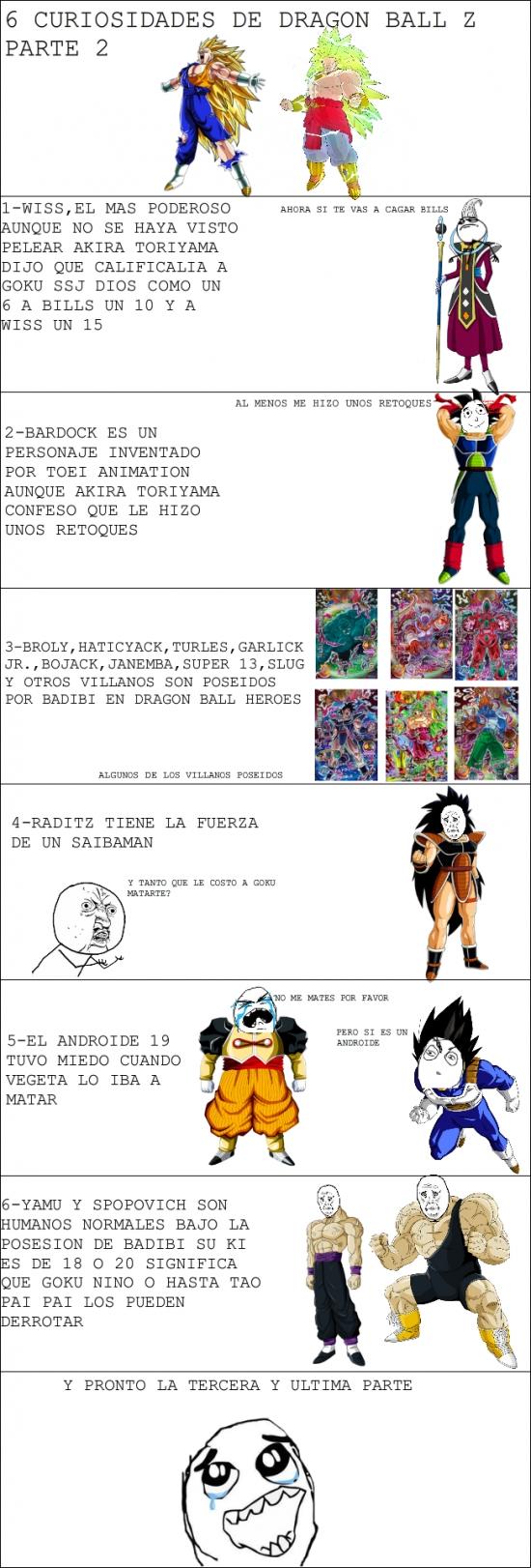 Otros - 6 Curiosidades de Dragon Ball Z Parte 2